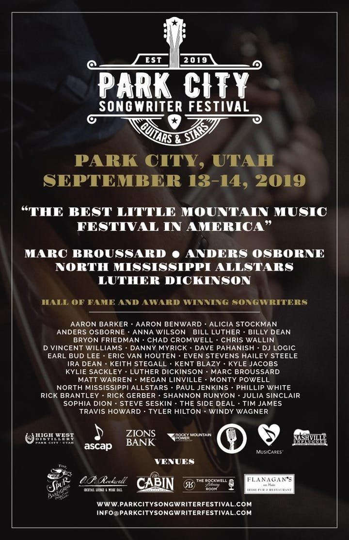 Park City Songwriters Festival