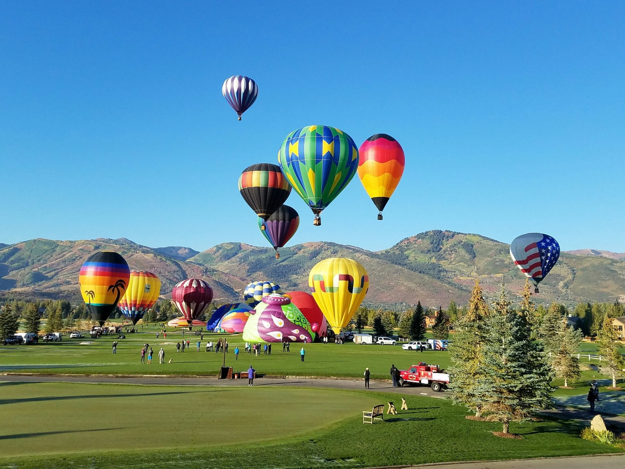 Autumn Aloft Park City