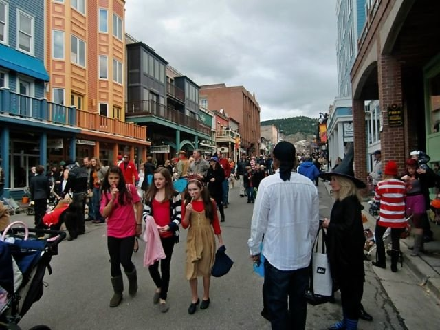 halloween in Park City
